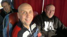 Dieter und Uwe, Hannover Fahrt